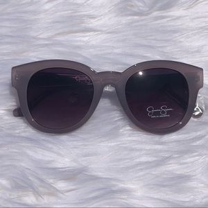 Lilac Glam Round Sunglasses